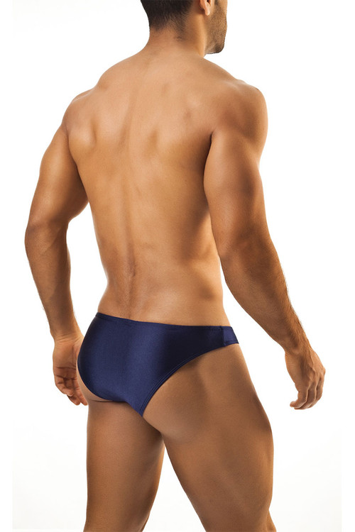 Navy - Joe Snyder Bikini Brief JS01 - Rear View - Topdrawers Underwear for Men