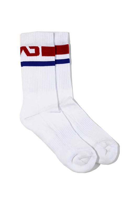 Addicted Basic Sport Socks AD521-06 Red - Mens Socks - Topdrawers Underwear for Men