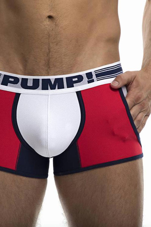 PUMP! Academy Jogger 11073 - Mens Trunk Boxer Briefs - Front View - Topdrawers Underwear for Men