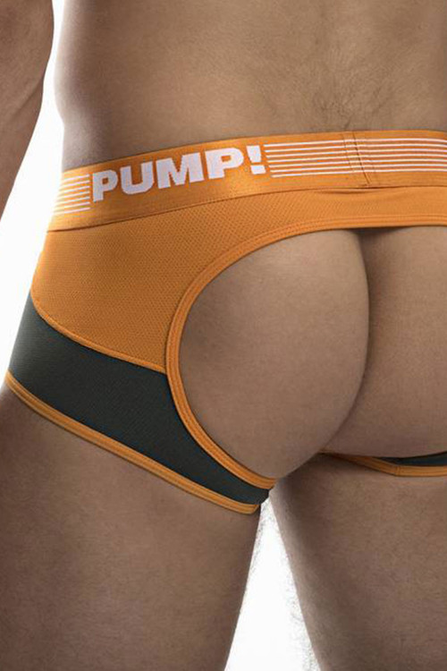 PUMP! Squad Access Trunk 15039 - Mens Jock Trunks - Rear View  - Topdrawers Underwear for Men