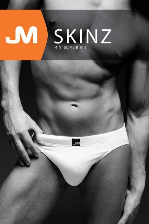 JM SKINZ Bikini 88152 - Mens Briefs - Box View - Topdrawers Underwear for Men