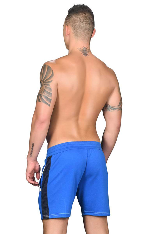 Andrew Christian Vibe Mesh Training Shorts 6484 - Rear View - Topdrawers Clothing for Men