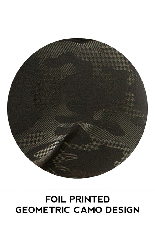 Modus Vivendi Glitter Brazil Cut Swim Trunk AS1921 - Black - Mens Swim Trunk Swimsuits - Swatch View - Topdrawers Swimwear for Men