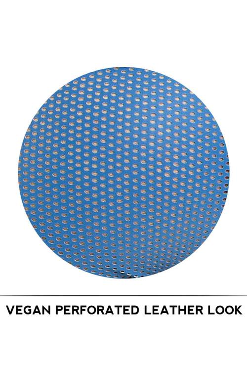 Modus Vivendi Vegan Boxer 03921 - Blue - Mens Boxer Briefs - Swatch View - Topdrawers Underwear for Men