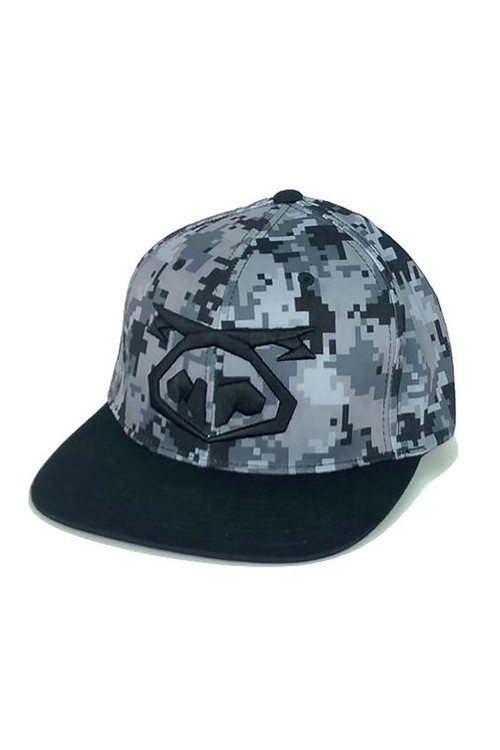 Nasty Pig Camo Flatbrim 8147  - Mens Caps - Front View - Topdrawers Clothing for Men