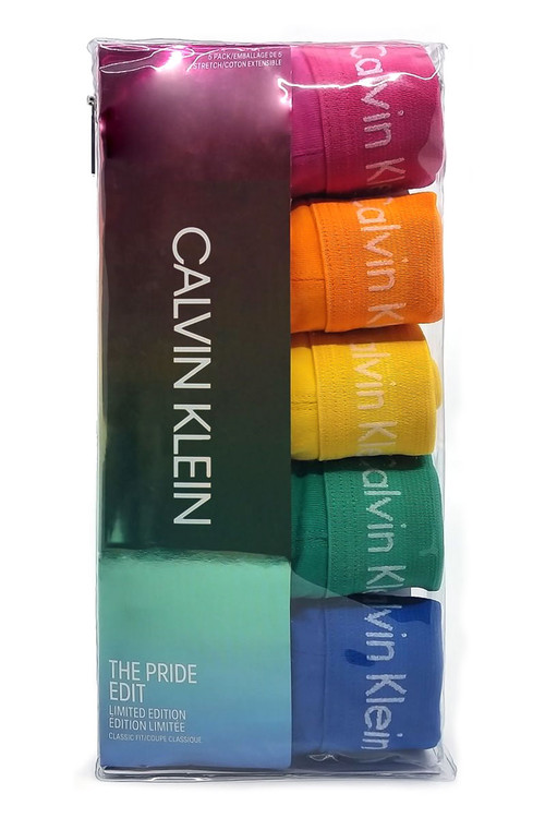 Calvin Klein 5-Pack Jock Strap The Pride Edit NB2041G-969 - Mens Jockstraps - Topdrawers Underwear for Men