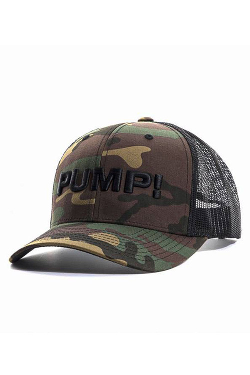 PUMP! Military Ball Cap 31013 - Mens Caps - Side View - Topdrawers Clothing for Men