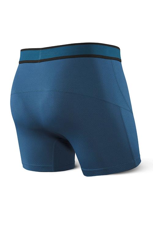 Saxx Kinetic Boxer Brief SXBB27-VLC - Velvet Crush - Mens Boxer Briefs - Rear View - Topdrawers Underwear for Men