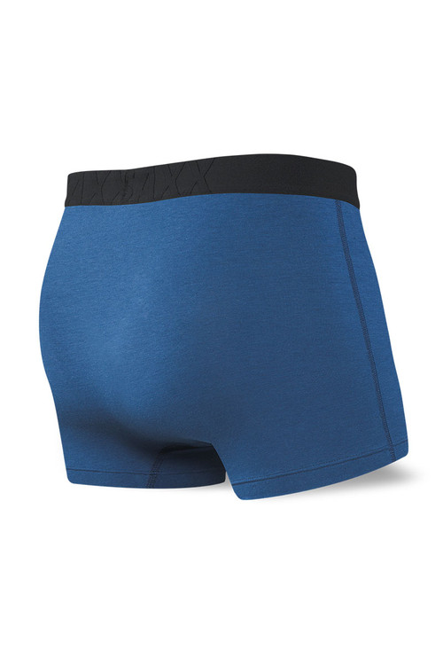 Saxx Undercover Trunk w/ Fly SXTR19F-CIT - City Blue - Mens Boxer Briefs - Rear View - Topdrawers Underwear for Men