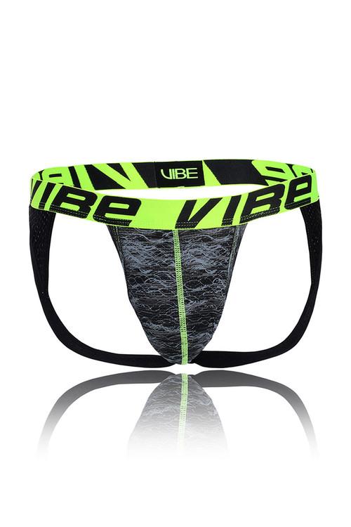 Andrew Christian Vibe Frequency Active Jock 91163 - Mens Jockstraps - Garment View - Topdrawers Underwear for Men