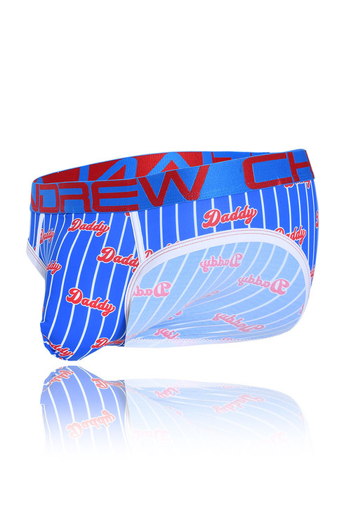 Andrew Christian Daddy Brief w/ Almost Naked 91164 - Mens Briefs - Garment View - Topdrawers Underwear for Men