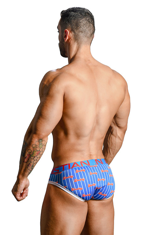 Andrew Christian Daddy Brief w/ Almost Naked 91164 - Mens Briefs - Rear View - Topdrawers Underwear for Men