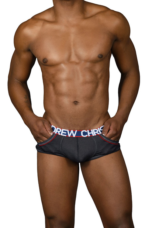 Andrew Christian Denim Pocket Boxer 91260