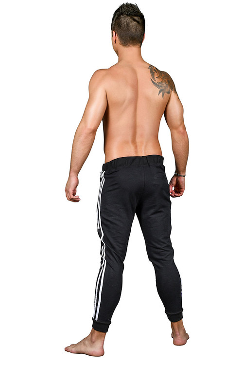 Andrew Christian Vibe Pure Training Pants 4141 - Mens Athletic Pants - Rear View - Topdrawers Clothing for Men