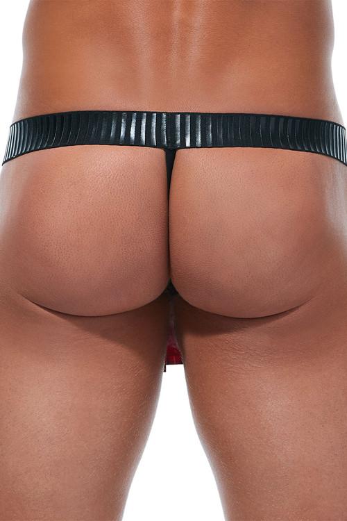 Gregg Homme The Kilt Thong 91245 - Mens Novelty G-Strings - Rear View - Topdrawers Underwear for Men