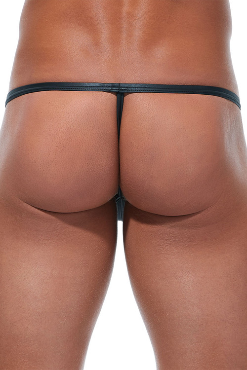 Gregg Homme Scorpio Pouch String 173214 - Mens G-String Thongs - Rear View - Topdrawers Underwear for Men