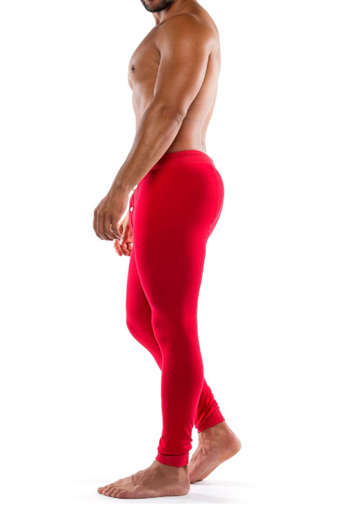 Go Softwear Lumber Jack Long Johns 4794-RD Red - Mens Long Underwear - Side View - Topdrawers Underwear for Men