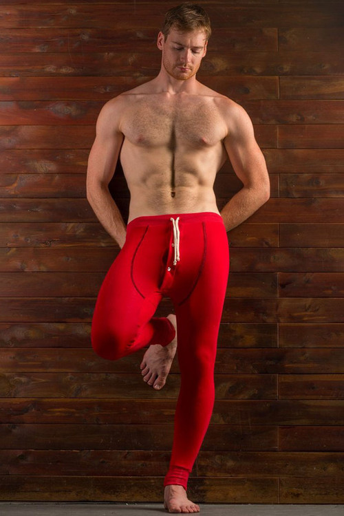 Go Softwear Lumber Jack Long Johns 4794-RD Red - Mens Long Underwear - Front View - Topdrawers Underwear for Men