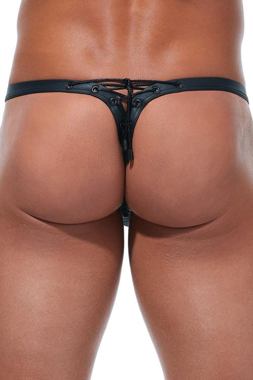 Gregg Homme Jailhouse Thong #2 173024 - Mens Fetish Thongs - Rear View - Topdrawers Underwear for Men