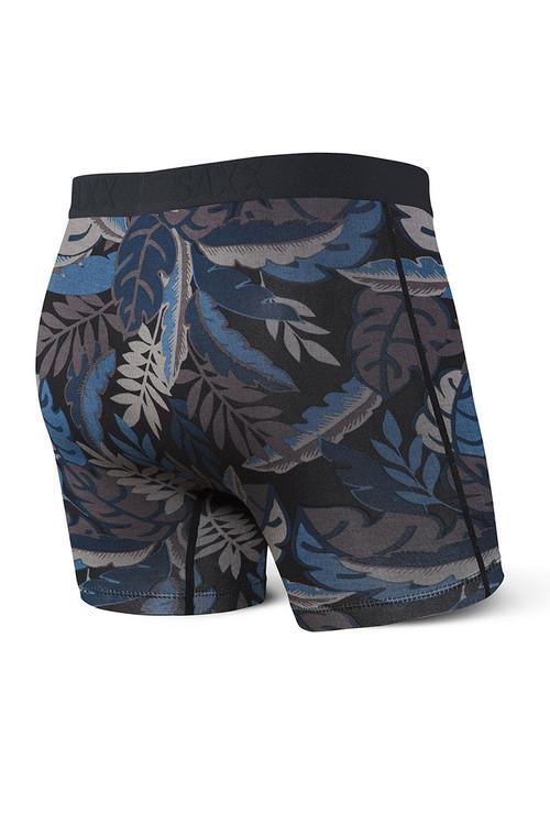 Saxx 2-Pack Vibe Boxer Brief   Jungle SXPP2V-JUN - Mens Boxer Briefs - Rear View - Topdrawers Underwear for Men