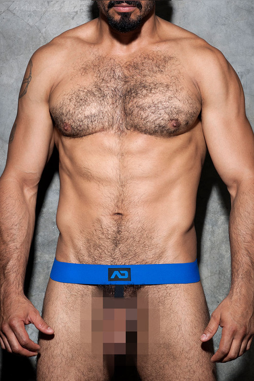Addicted Fetish Cockring Band ADF58-16 Royal Blue - Mens Accessories - Front View - Topdrawers Fetish Wear for Men