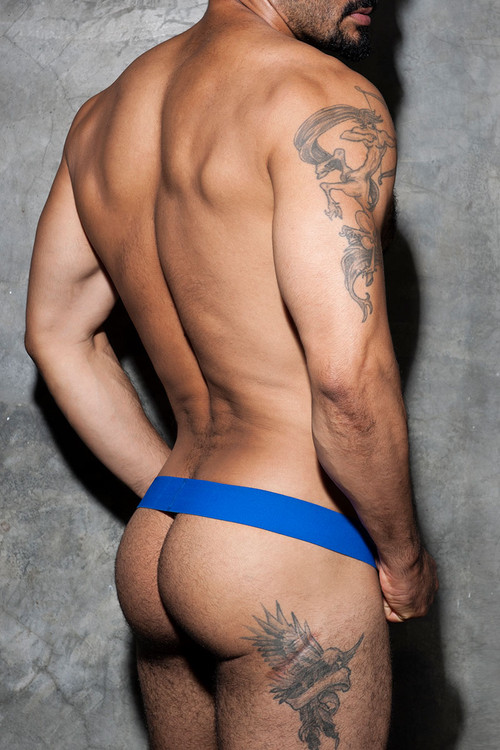 Addicted Fetish Cockring Band ADF58-16 Royal Blue - Mens Accessories - Rear View - Topdrawers Fetish Wear for Men