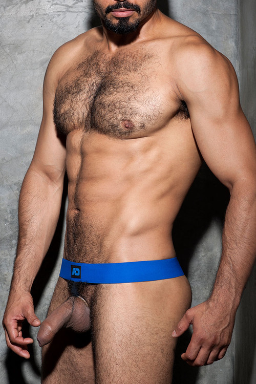 Addicted Fetish Cockring Band ADF58-16 Royal Blue - Mens Accessories - Side View - Topdrawers Fetish Wear for Men