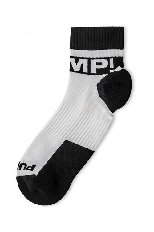 PUMP! All-Sport B&W Socks 41006 - Mens Socks - Front View - Topdrawers Underwear for Men