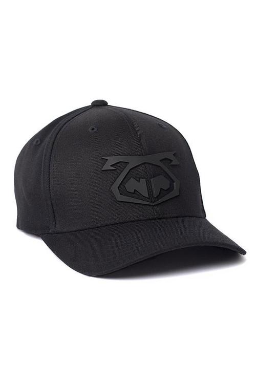 Nasty Pig Snout Cap 8155-BL Black - Mens Hats - Front View - Topdrawers Clothing for Men