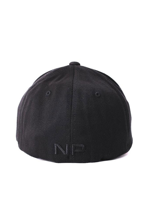 Nasty Pig Snout Cap 8155-BL Black - Mens Hats - Rear View - Topdrawers Clothing for Men
