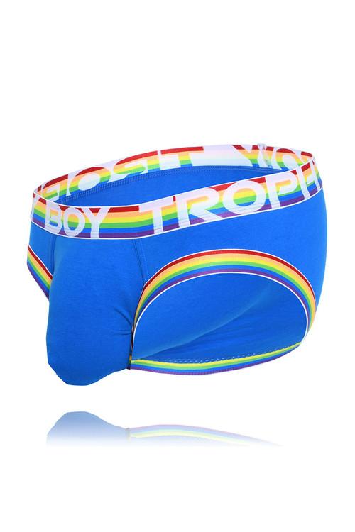 Andrew Christian Trophy Boy Pride Brief 91514 - Mens Briefs - Garment View - Topdrawers Underwear for Men