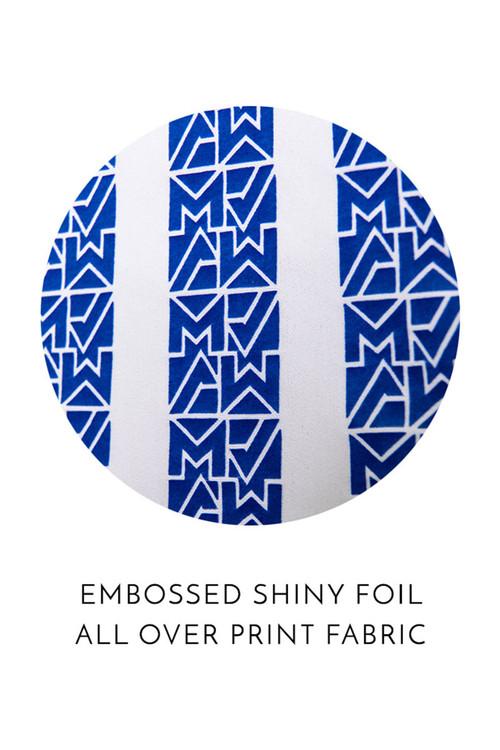 Modus Vivendi Tyres Swim Short ES2031-BU Blue - Mens Swim Shorts - Swatch View - Topdrawers Swimwear for Men