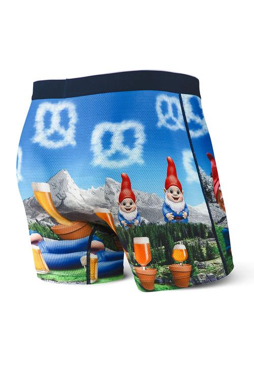 Saxx Volt Boxer Brief   Beer Garden SXBB29-BEG - Mens Boxer Briefs - Rear View - Topdrawers Underwear for Men
