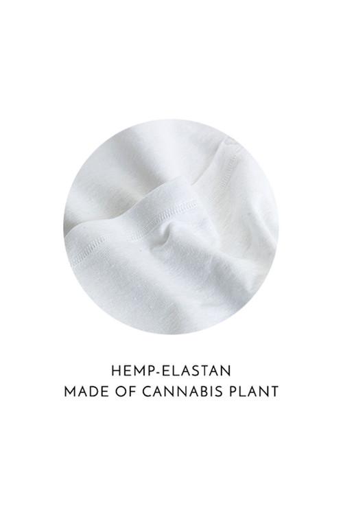 Modus Vivendi Cannabis Low Cut Brief 09013-1-WH White - Mens Briefs - Swatch View - Topdrawers Underwear for Men