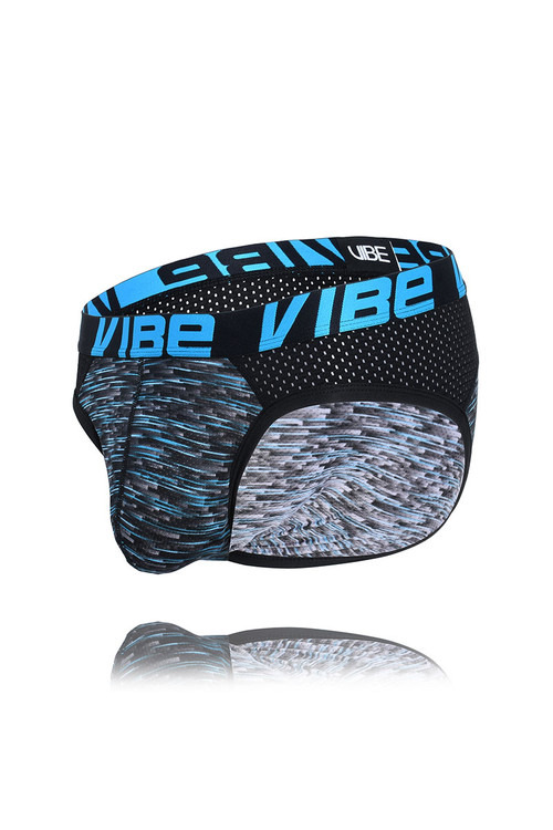 Andrew Christian Vibe Pro Mesh Brief 91358 - Mens Briefs - Garment View - Topdrawers Underwear for Men