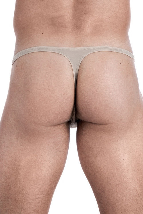 Punto Blanco Zensation Thong 5374610-869 Nude - Mens Thongs - Rear View - Topdrawers Underwear for Men