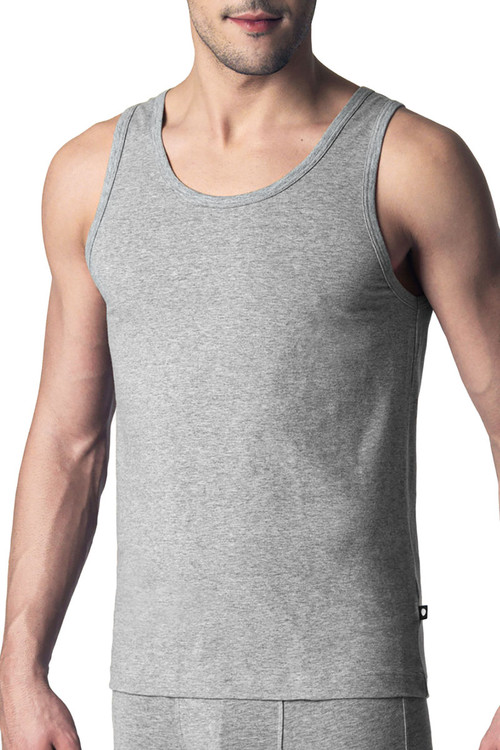 Punto Blanco Singlet Basix 5317620-654 - Mens Tank Tops - Front View - Topdrawers Underwear for Men