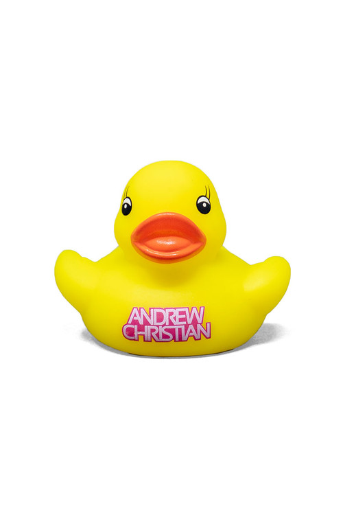 Andrew Christian Queer Duckie 8538 - Mens Accessories - Yellow View - Topdrawers Gear for Men