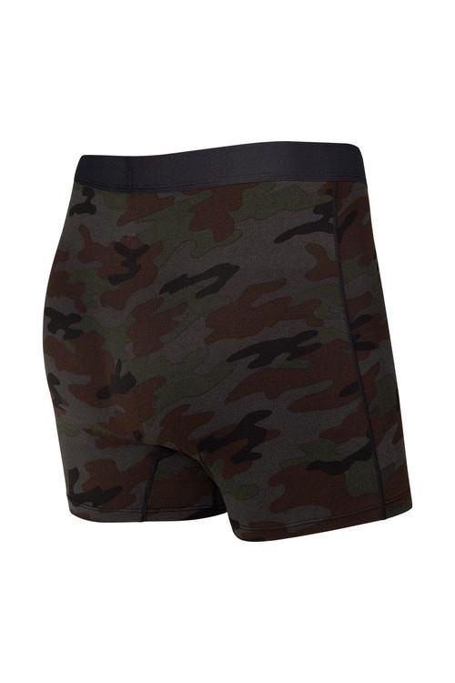 Saxx Daytripper Boxer Brief w/ Fly   Black Ops Camo SXBB11F-OCB - Mens Boxer Briefs - Rear View - Topdrawers Underwear for Men