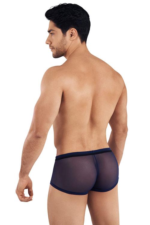 Clever Strage Latin Boxer 0300-08 Navy Blue - Mens Boxer Briefs - Rear View - Topdrawers Underwear for Men