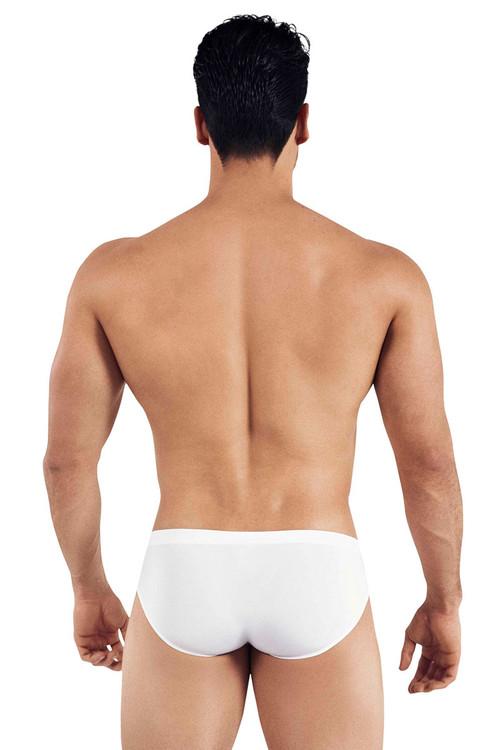 Clever Austrian Latin Brief 5373-01 White - Mens Briefs - Rear View - Topdrawers Underwear for Men