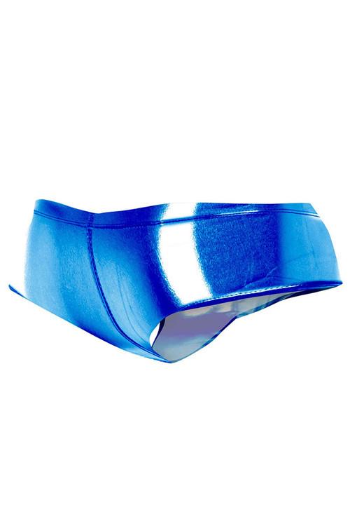 Cut4Men High Cut Cheeky Brief   Skai Blue C4M05-SKBU - Mens Briefs - Rear View - Topdrawers Underwear for Men