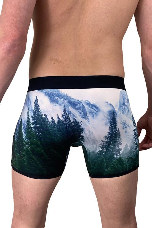 Dirt Squirrel PNW Boxer Brief 0138  - Mens Boxer Briefs - Rear View - Topdrawers Underwear for Men