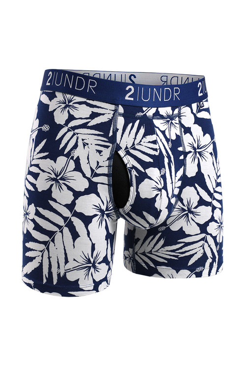 2UNDR Swing Shift Boxer Brief | Mahalo 2U01BB-202 - Mens Boxer Briefs - Front View - Topdrawers Underwear for Men