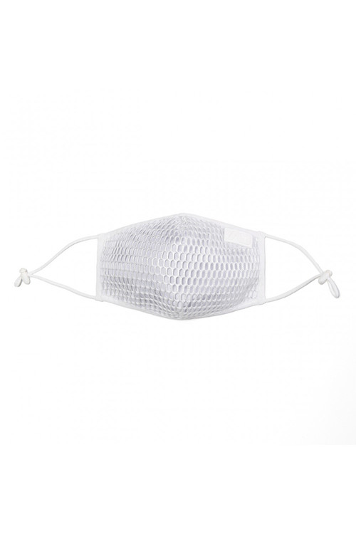 Addicted AD Party Face Mask AC137-01 White - Mens Reusable Face Masks - Garment View - Topdrawers Protective Gear for Men