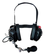 BTH Headset with Push to Talk - Black