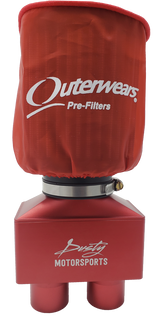 Air Duo Pumper - Red Anodized Finish