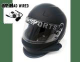 Side Air Composite Matte Black Helmet