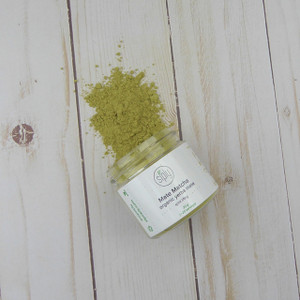 Mate Matcha - finely ground organic unfrosted Brazilian mate