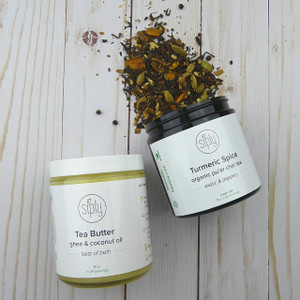 Turmeric Spice + Tea Butter